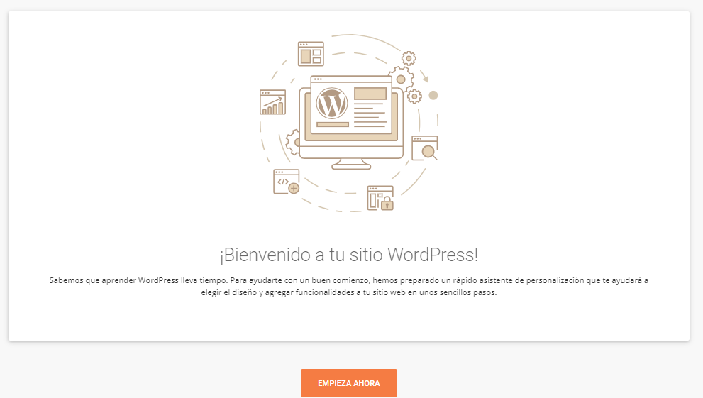 asistente wordpress
